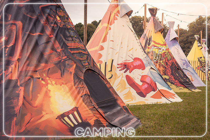 DISCOVER CAMPING MOONFIELD FESTIVAL